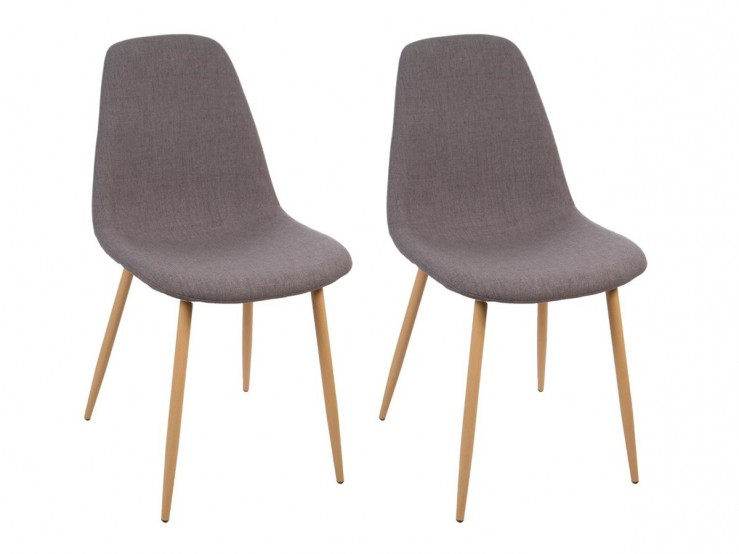 Tipi gris Atmosphera Fauteuil taupe Atmosphera
